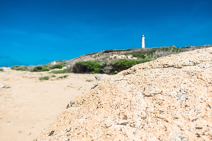 Farul California, Aruba