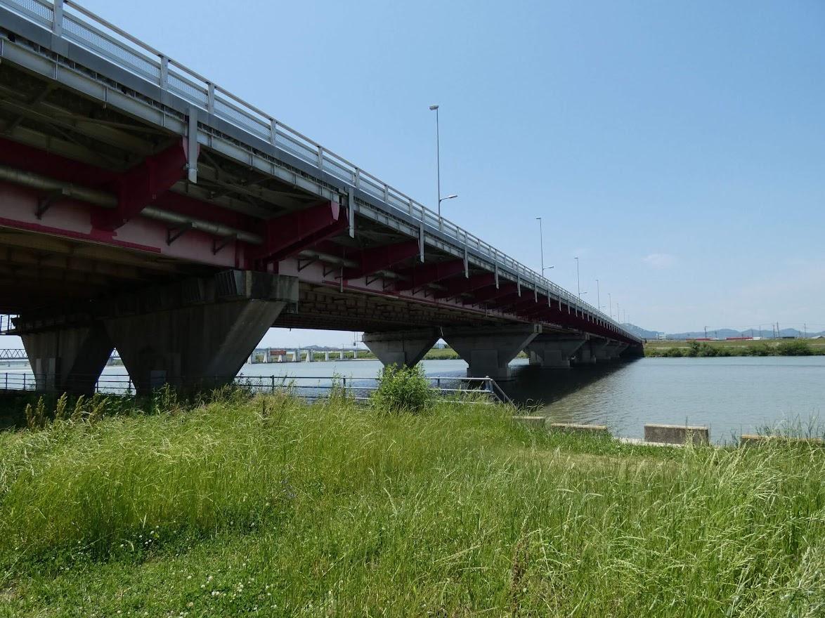 加古川河川敷の風景