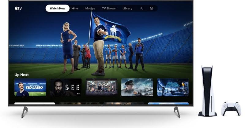 ผู้เล่น PlayStation 5 ได้สิทธิพิเศษการเป็นสมาชิก Apple TV ฟรี 6 เดือน
