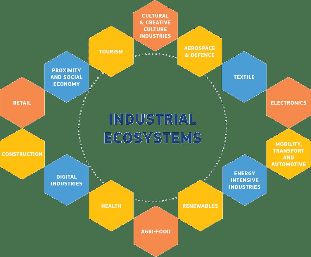 Strategia industriale europea - Grafica della Commissione europea