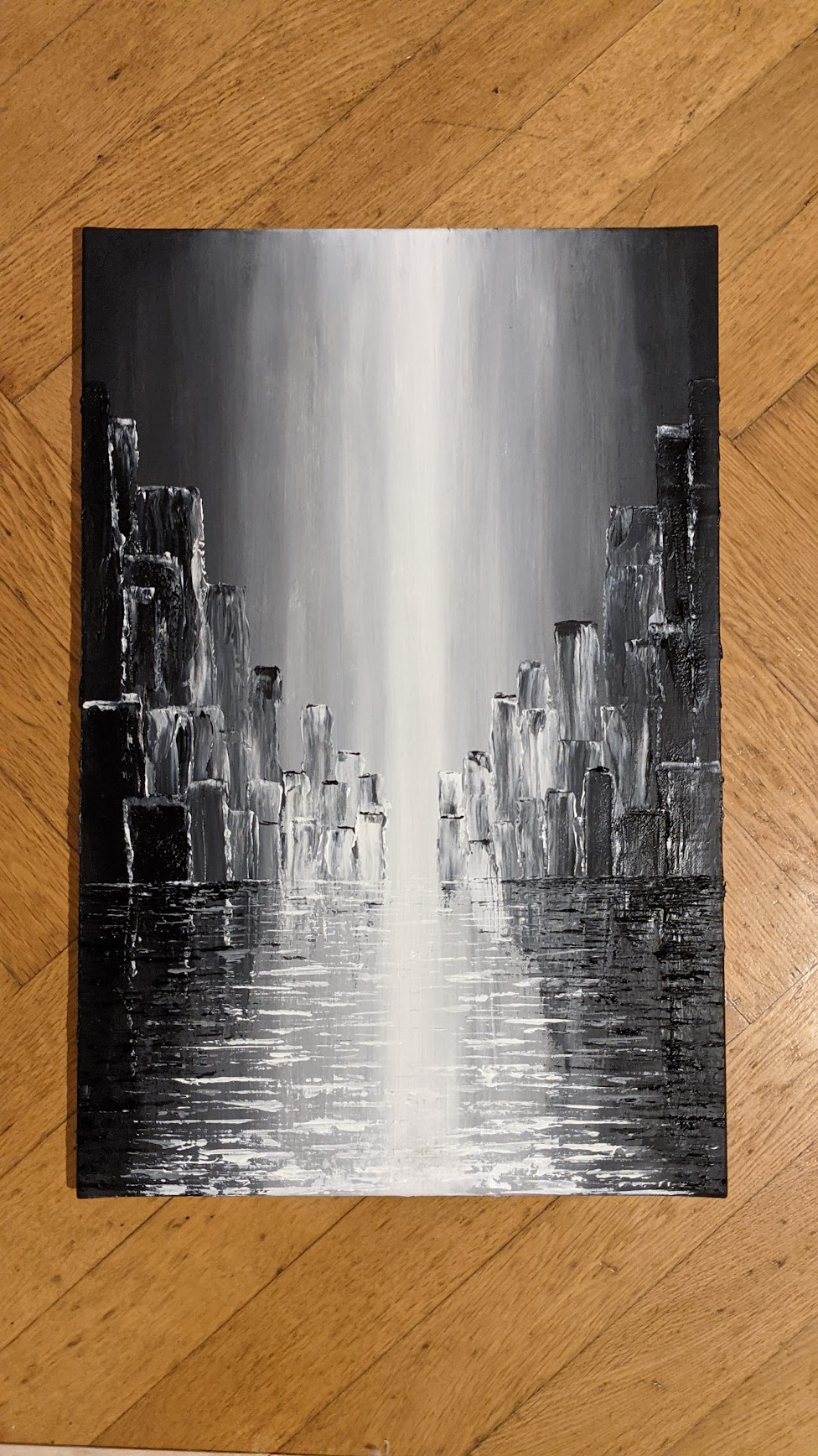 acrylic on canvas, 60 x 40cm, by Michal Cáb