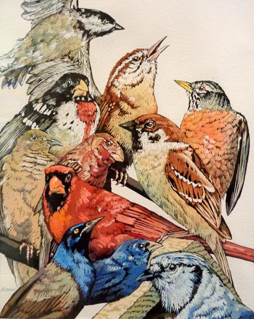 People's Choice Award:  May 8th Observation Watercolor by Lee Walter