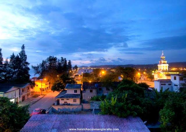 Manglaralto Vista Panoramica Prov de Santa elena Hotel Chacon Manglaralto Ecuador