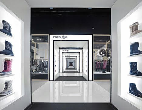 thiết kế shop thời trang