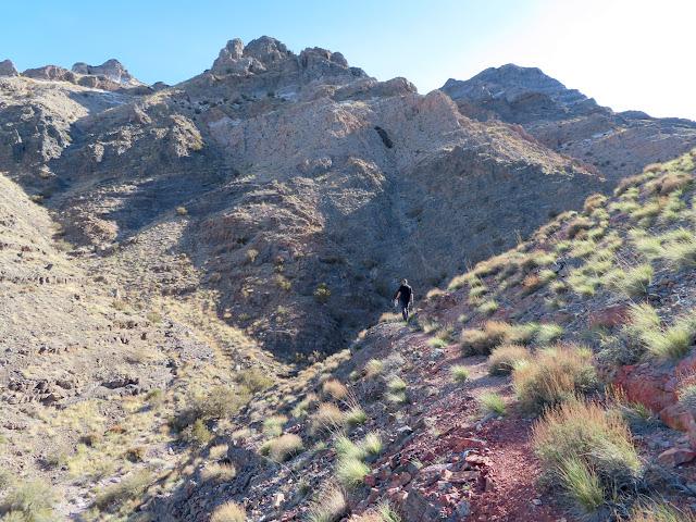 Walking the miner's trail