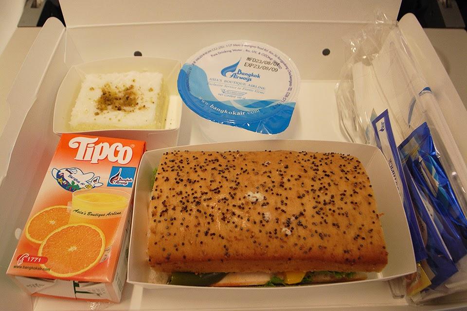 2007092511 - Bangkok Airways's in-flight meal