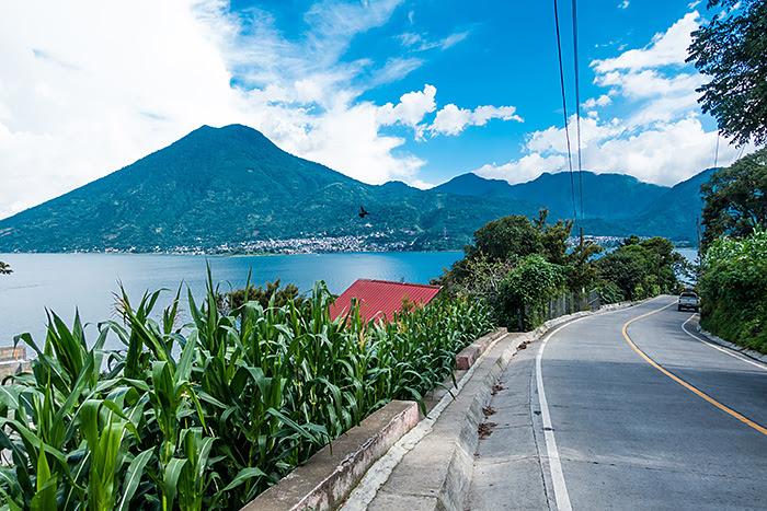 San Pablo la Laguna, lacul Atitlan