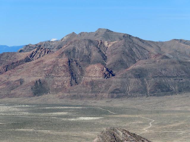 Tetzlaff Peak and the Bonneville Shoreline
