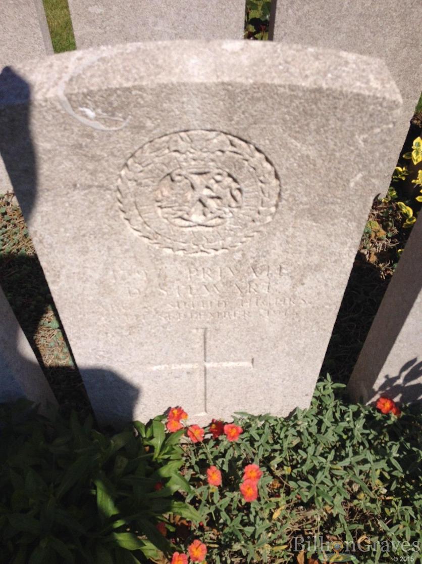 Daniel  Stewart grave