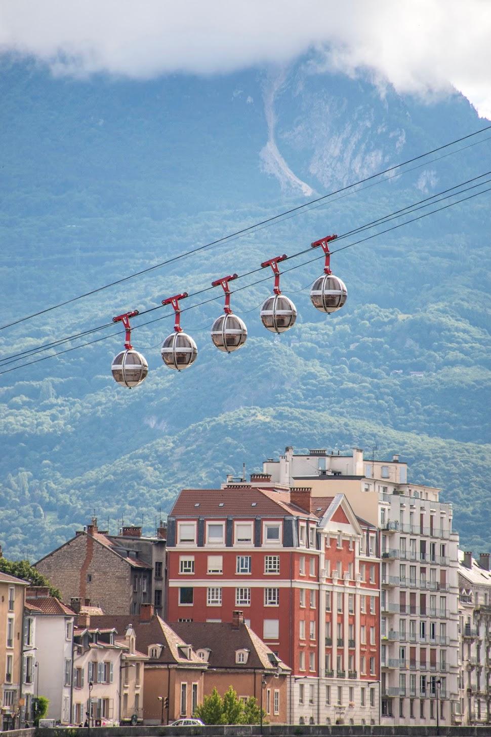 Grenoble-Franse-Alpen