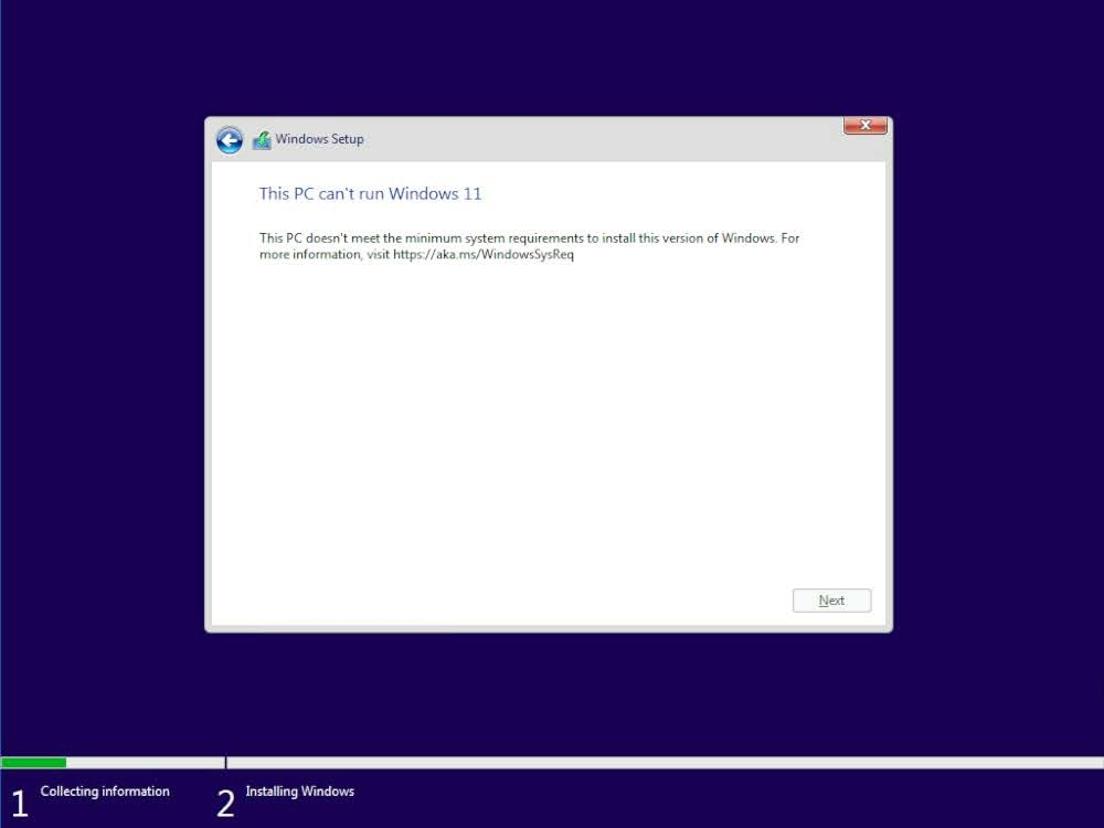 """Solved: How do I fix """"This PC Can't Run Windows 11"""" on ESX?"""