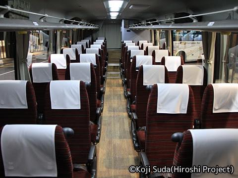 山交バス「アルカディア号」専用車 1502 山形駅前にて