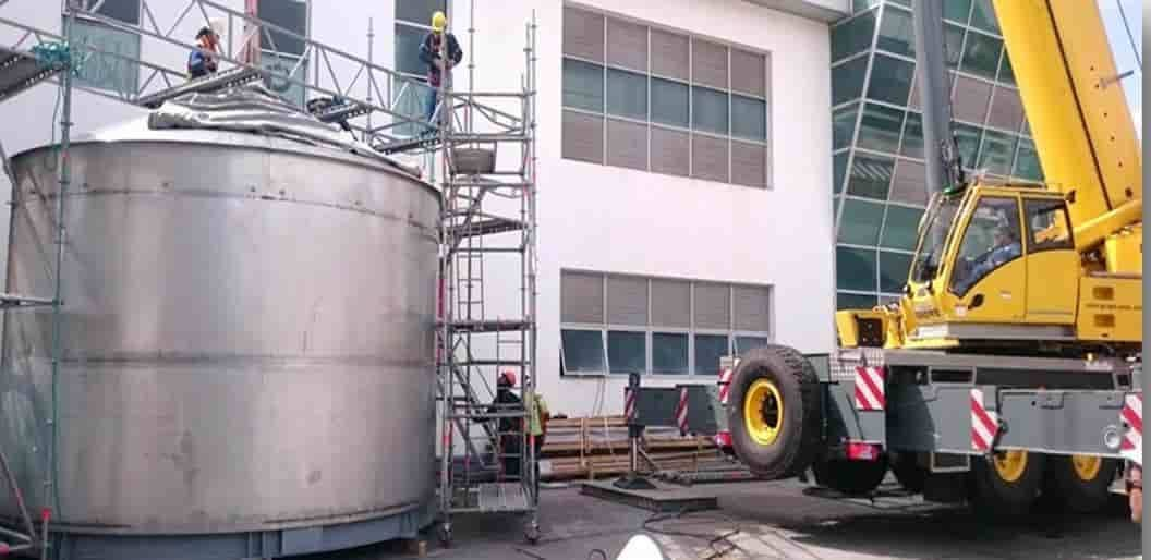 Indusolmos Construccion de Tanques Industriales Ecuador