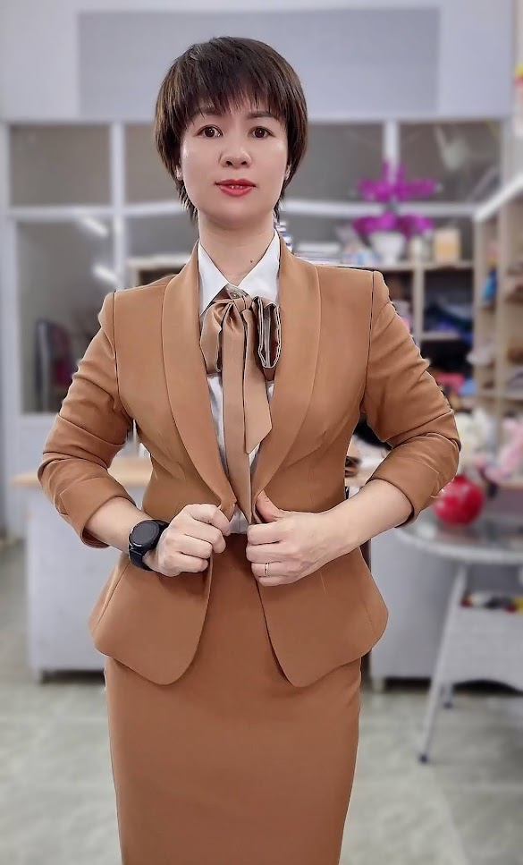 áo vest nữ đồng phục công sở bên bảo hiểm thời trang thủy hà nội