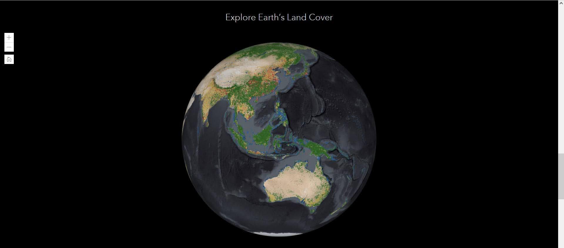 Komparasi Peta Tutupan Lahan ESRI 2020 dan Versi KLHK