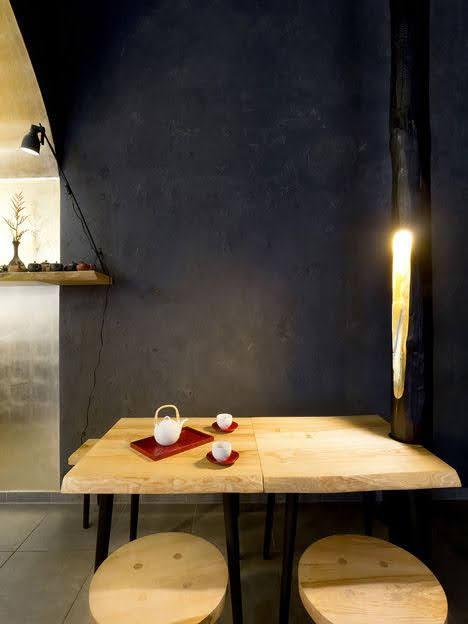 bàn ghế quán trà
