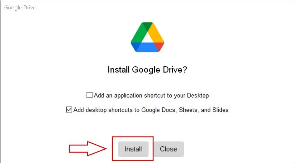 hướng dẫn cách đồng bộ google drive với pc