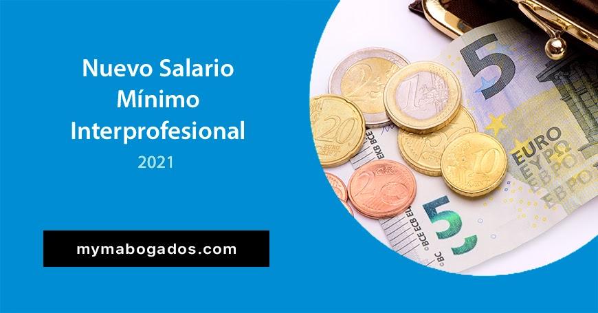 Nuevo Salario Mínimo Interprofesional 2021 | Melián Abogados