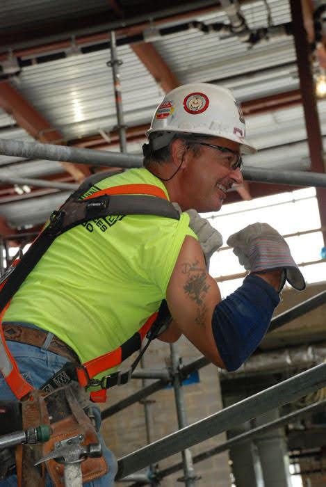 superior scaffold, pat mcandrew retirement, scaffolding, shoring, mast climber, elevator, transport platform