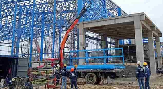 INDUSOLMOS S.A Construccion de estructuras en Ecuador