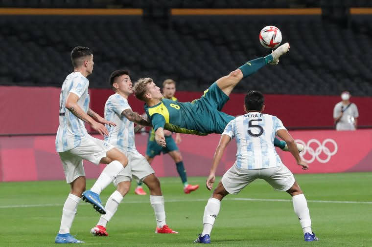 JUEGOS OLÍMPICOS: Argentina perdió en el debut olímpico frente Australia