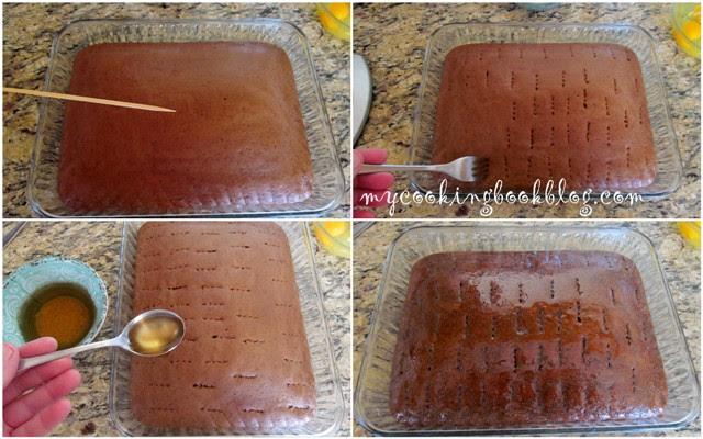 печене и сиропиране на десерта