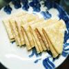 chinese, duck pancake, flatbread, lotus pad, Mandarin Pancakes, recipe, 中式薄餅, 單餅, 荷葉餅