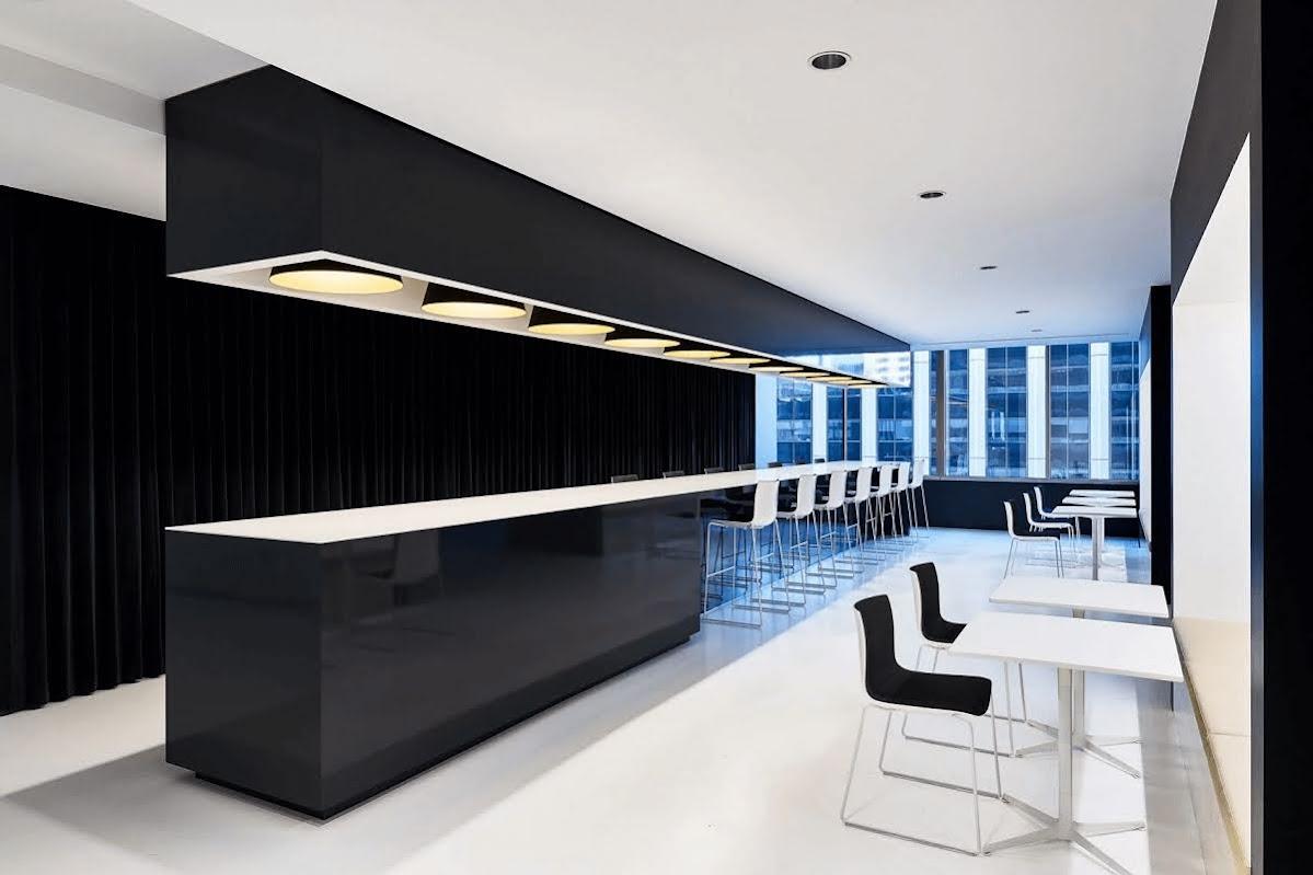 thiết kế văn phòng công ty mỹ phẩm