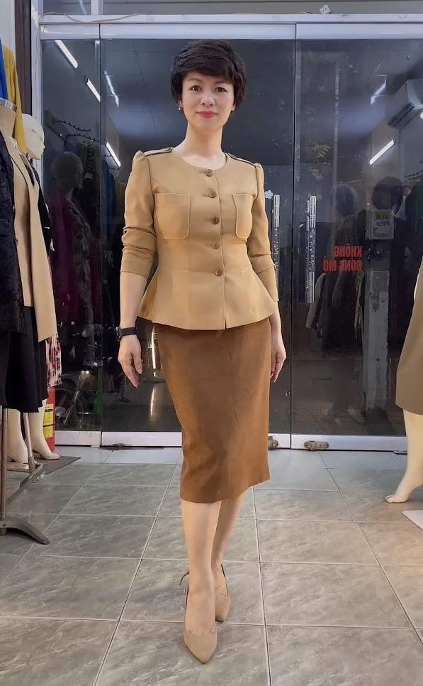 Áo Peplum che bụng phối đồ công sở dạo phố V800 thời trang thủy đà nẵng