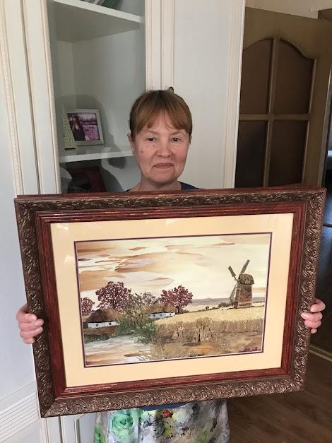 Морозова Ольга Ивановна из Новокузнецка, «Сельские мотивы»