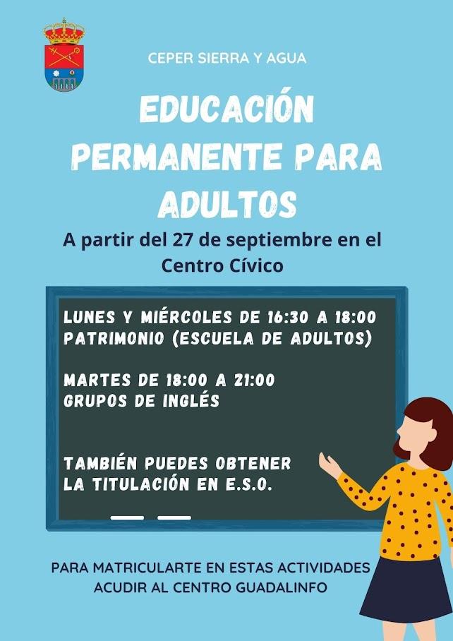 Escuela Adultos Viznar 2021