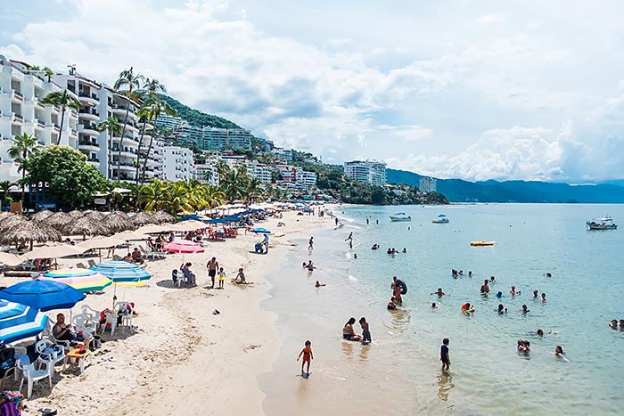 Plaje zona romantică, Puerto Vallarta