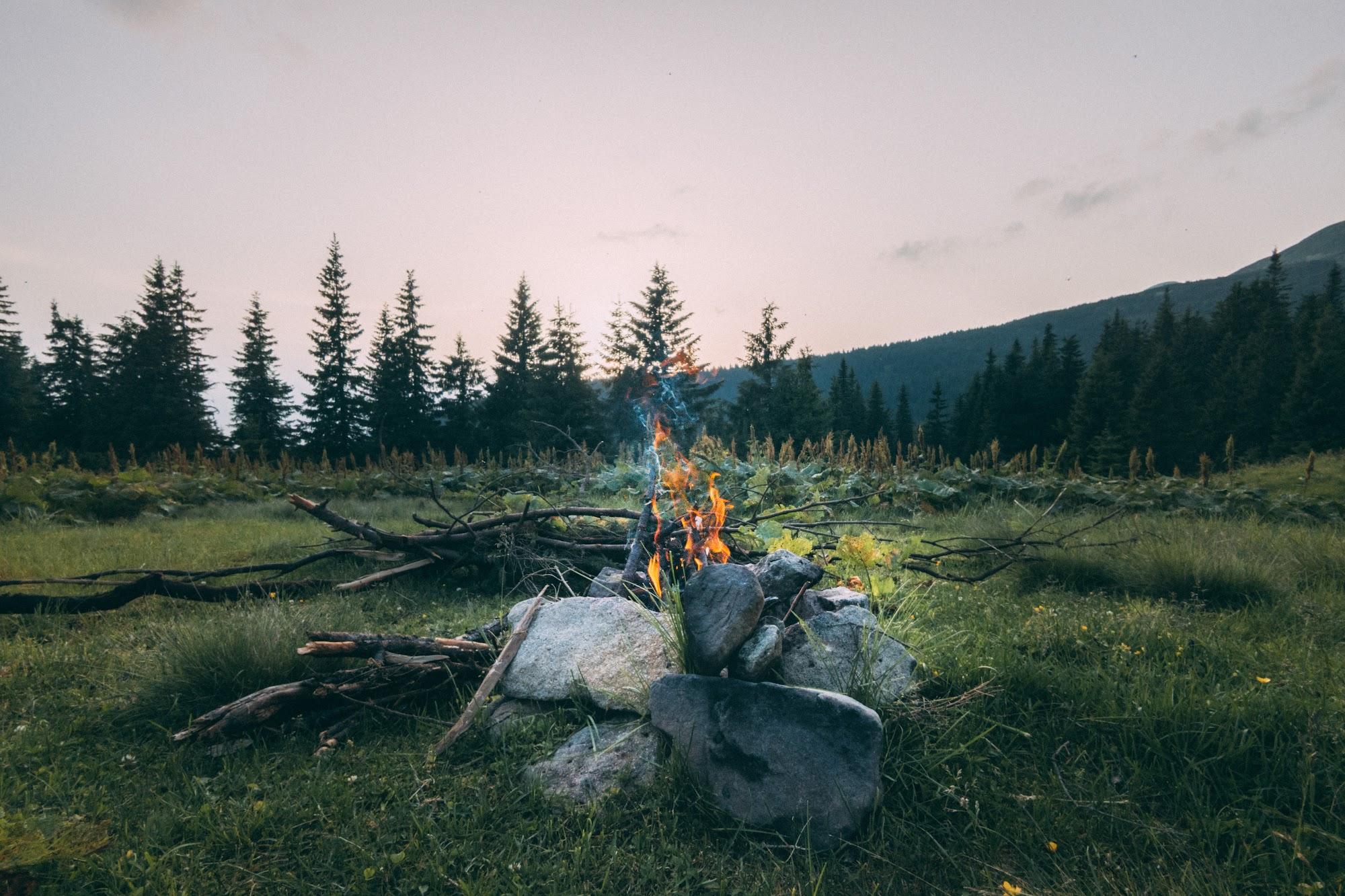 Ватра біля табору