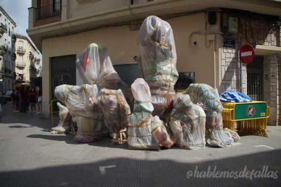 Traslado Fallas Feria Valencia