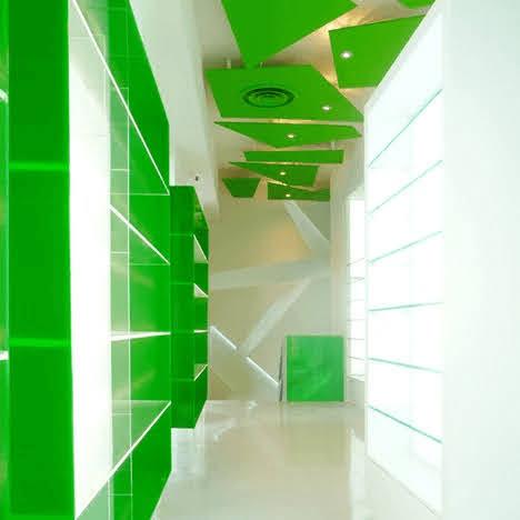 thiết kế nội thất nhà thuốc
