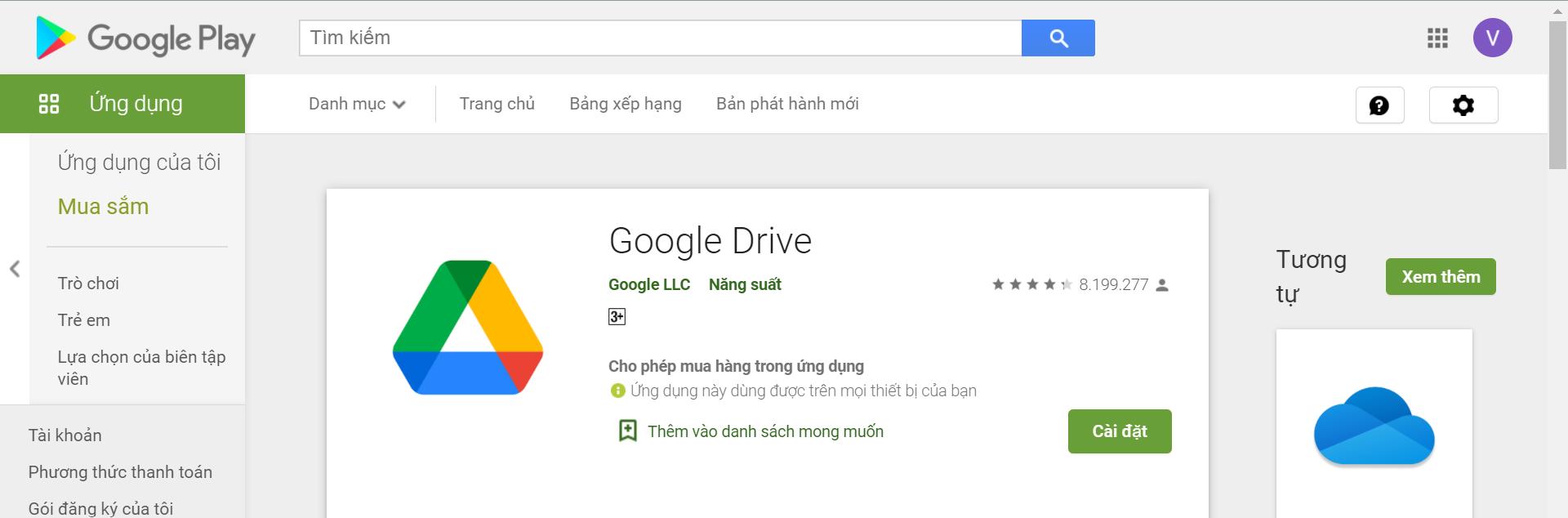 google drive là gì - hướng dẫn sử dụng google drive - ứng dụng android