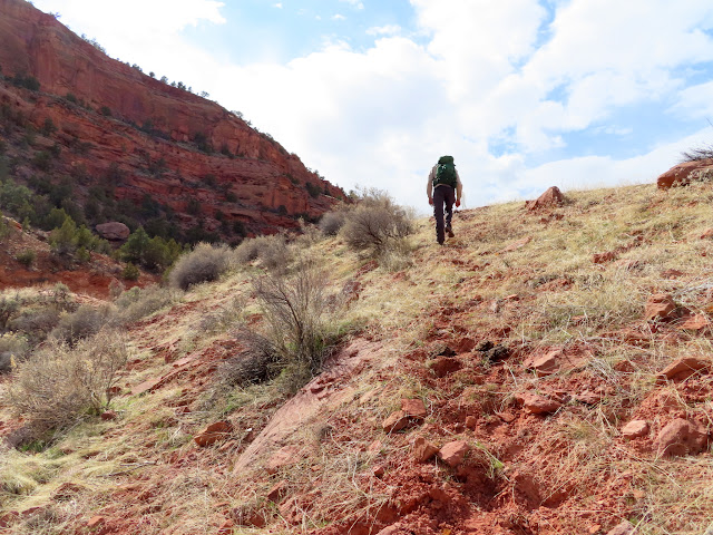 Steep hillclimb
