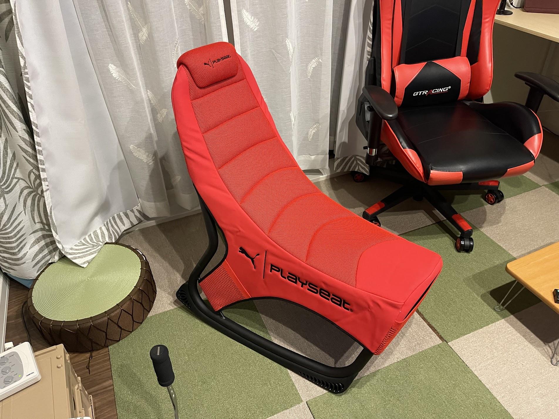 PlaySeet Puma Active Gaming Seat Redを買ってみた