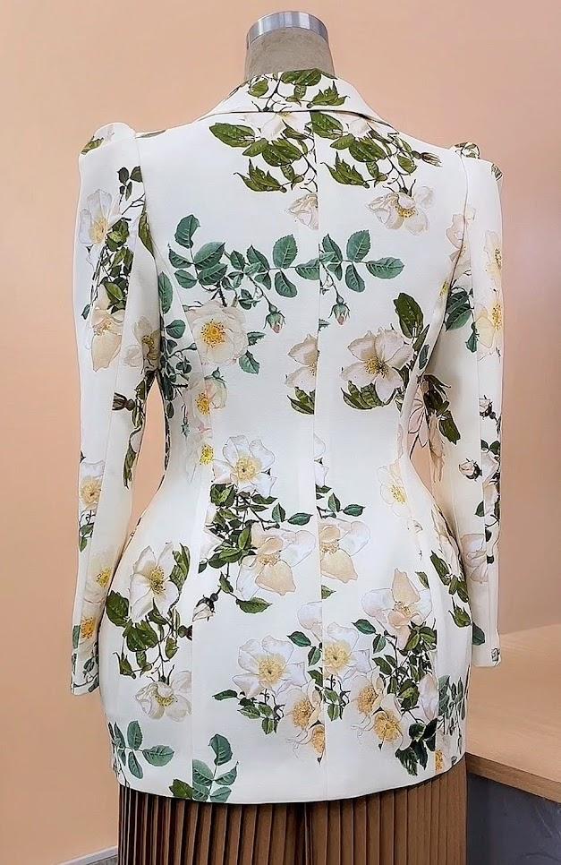 áo vest nữ dáng eo thiết kế phồng hông mặc đẹp thời trang thủy hải phòng 2