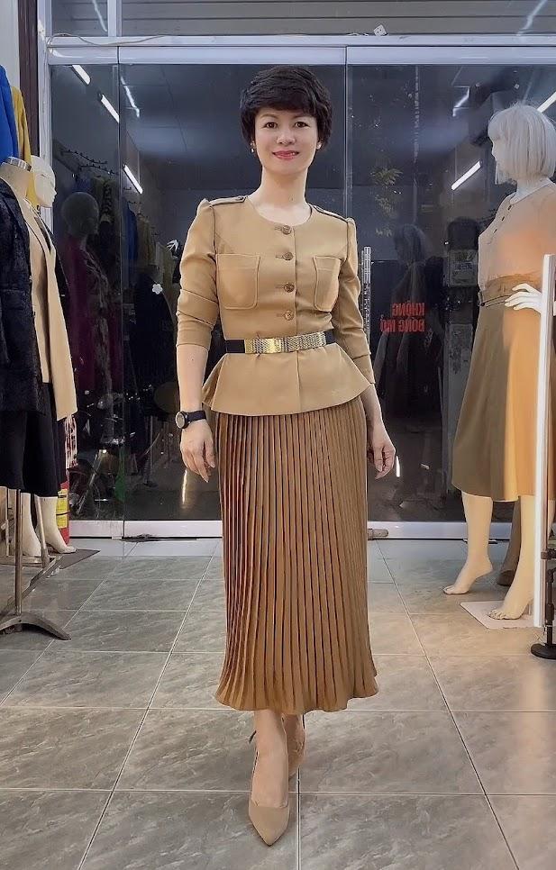 Áo Peplum che bụng phối đồ công sở dạo phố V800 thời trang thủy sài gòn