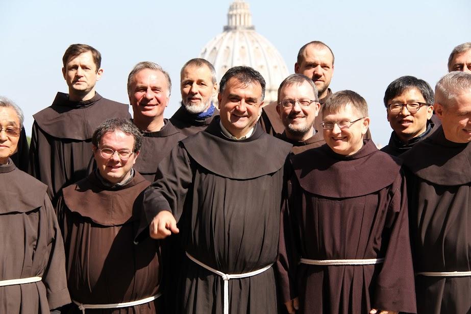 Franciscanos en Roma