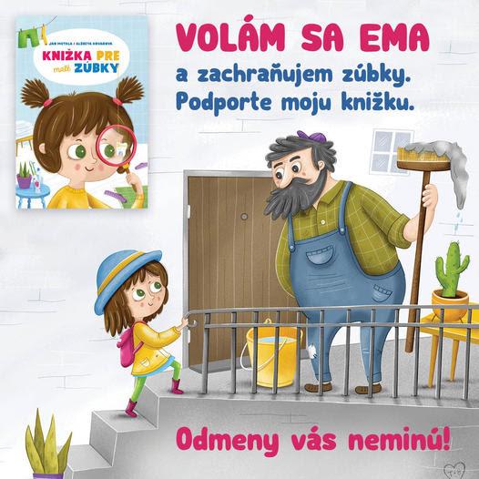 KNIŽKA PRE MALÉ ZÚBKY – detská knižka o budovaní zdravých návykov