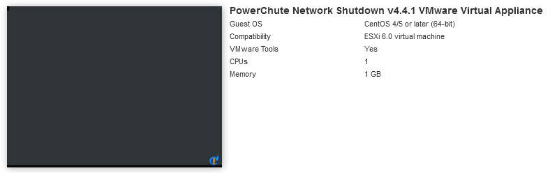 The VM will shutdown almost immediately.