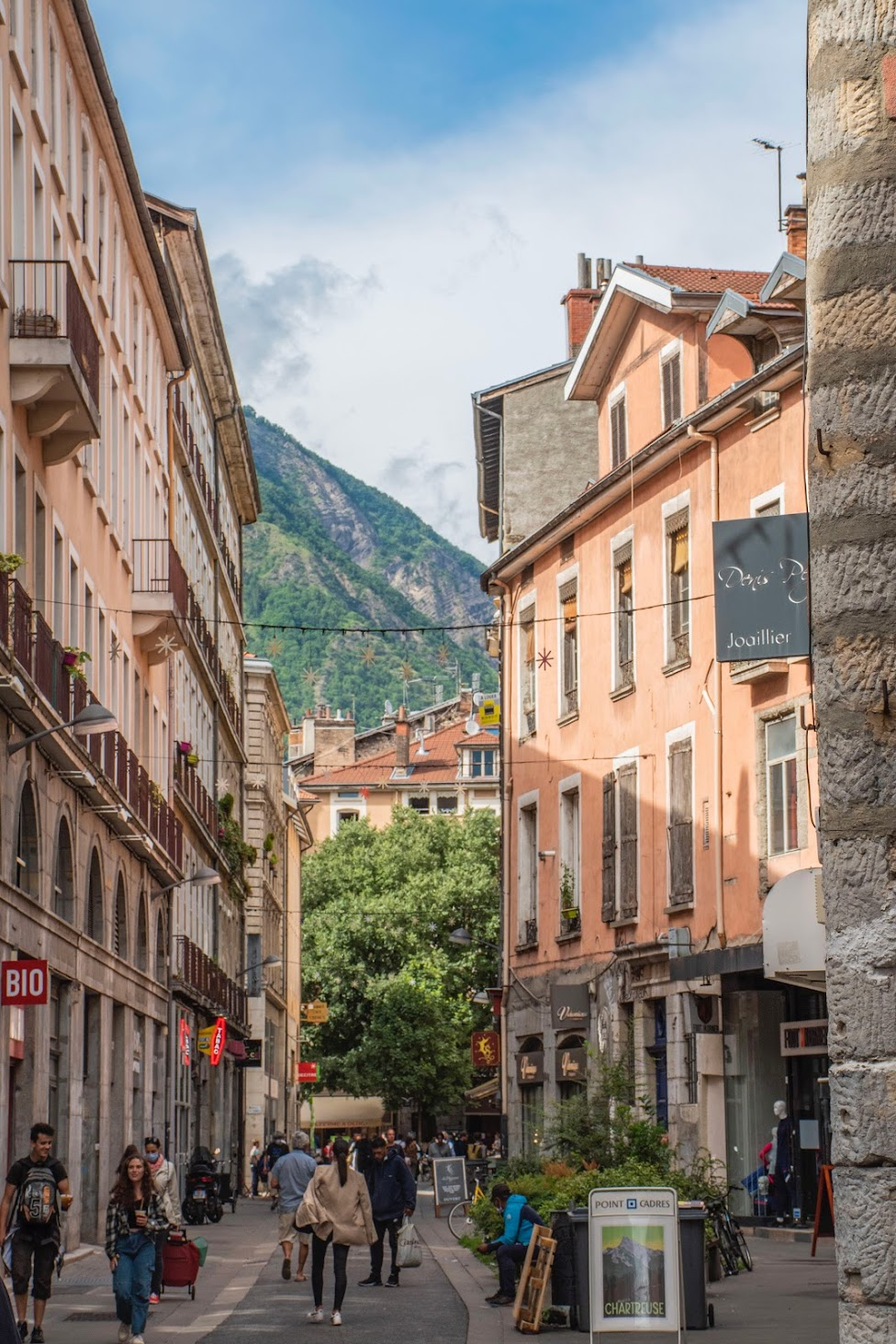 Grenoble-oude-stad