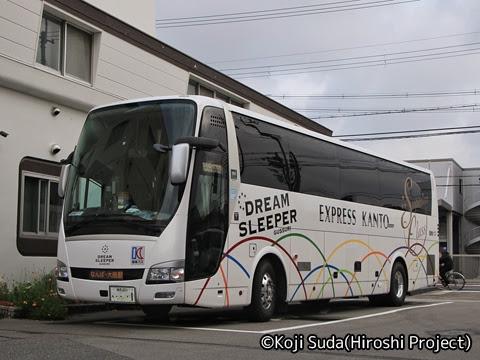 関東バス「ドリームスリーパー東京大阪号」 ・・・1_301