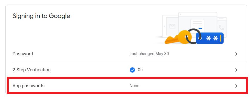 cách tạo mật khẩu ứng dụng gmail