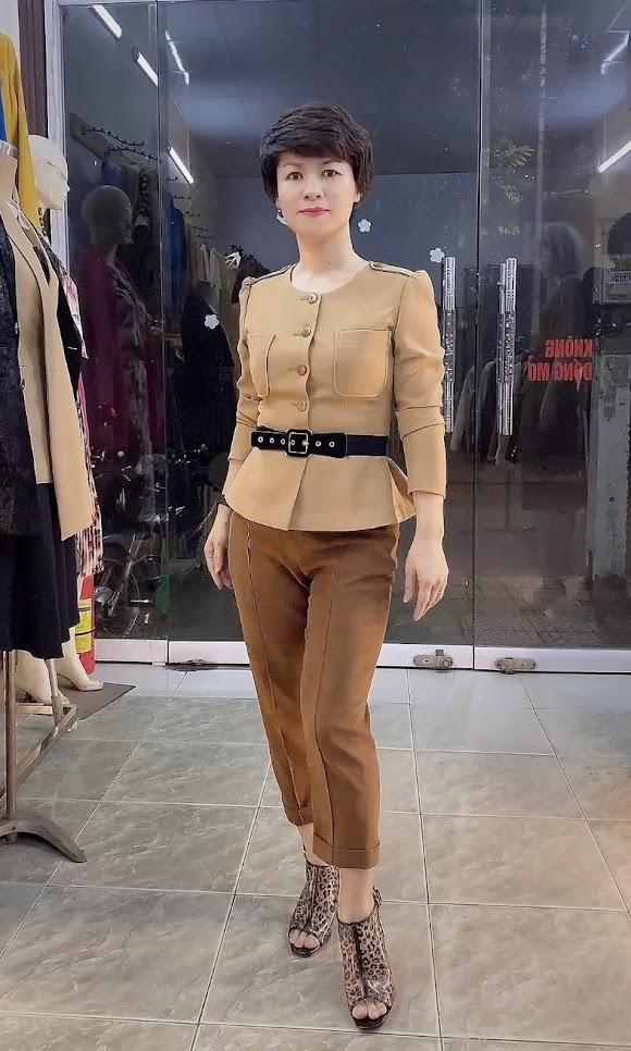 Áo Peplum che bụng phối đồ công sở dạo phố V800 thời trang thủy quảng ninh