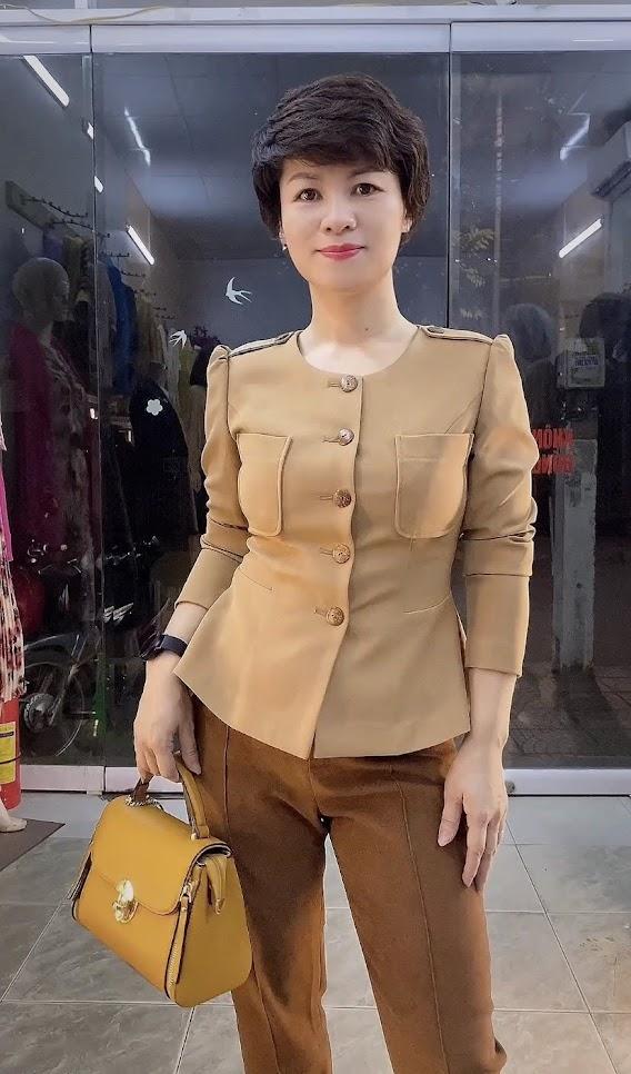 Áo Peplum che bụng phối đồ công sở dạo phố V800 thời trang thủy cát bà