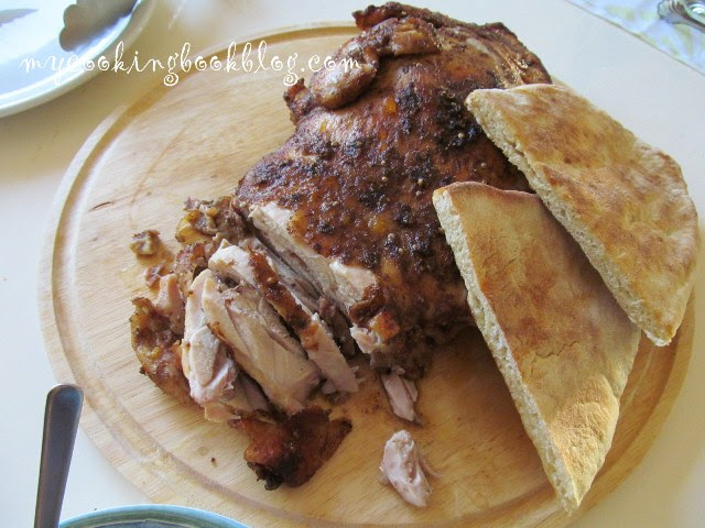 Гирос (Gyros) на фурна с пилешко месо