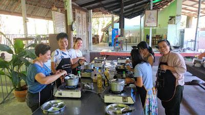 Evening Class Ya's Thai Cookery School in Ao Nang